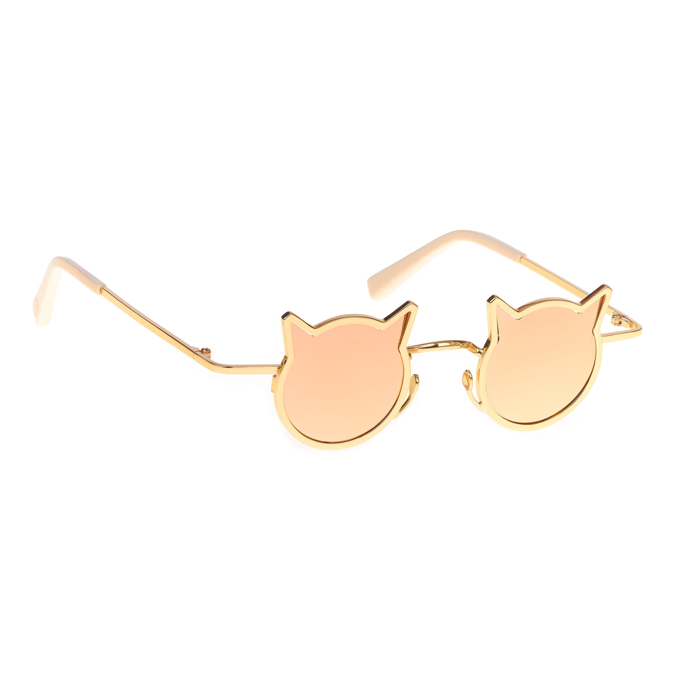 18k Gold Plated Cool Cat