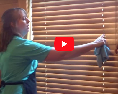 How to clean wooden blinds the fast easy way