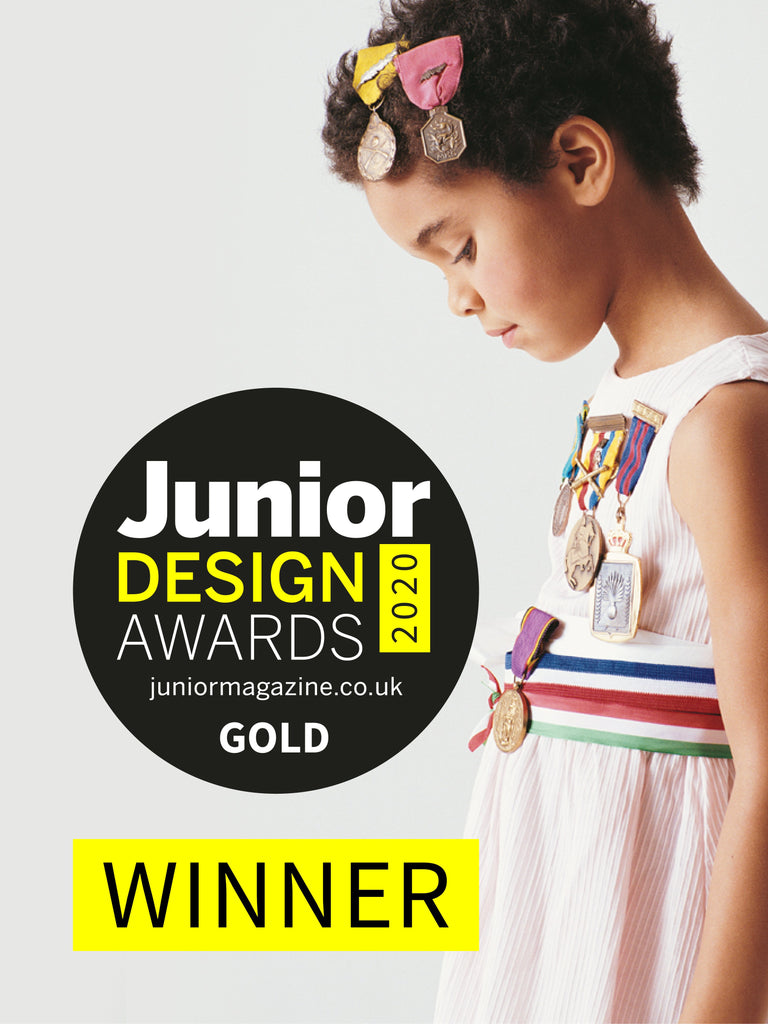 We Might Be Tiny awarded Gold at Junior Design Awards 2020