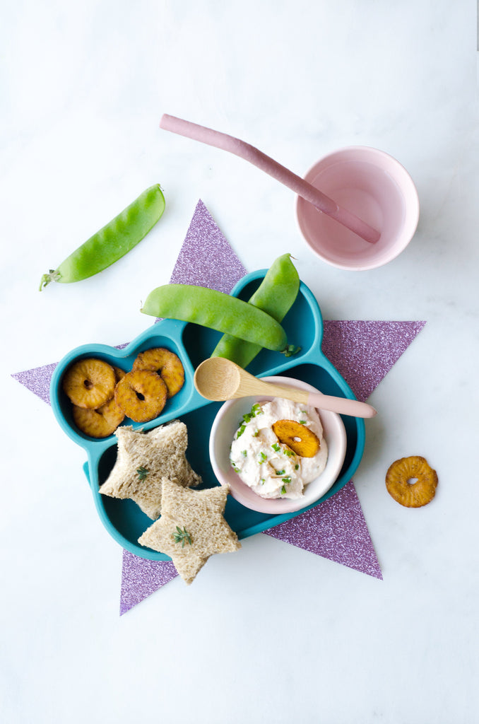 Cream Cheese Sandwich Stars