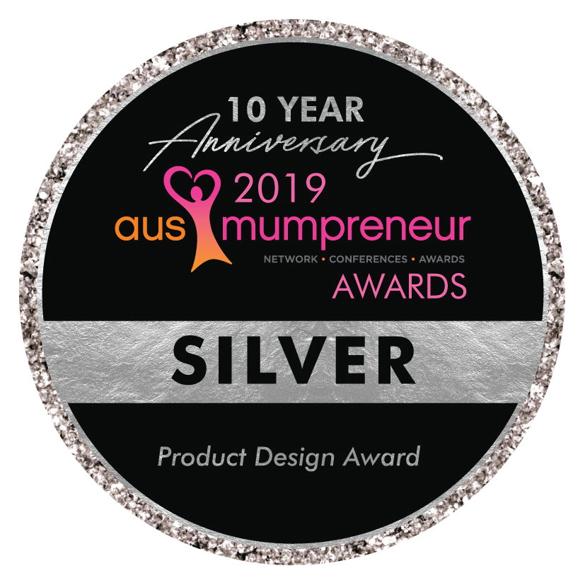 AusMumpreneur Awards - Silver Product Design - We Might Be Tiny
