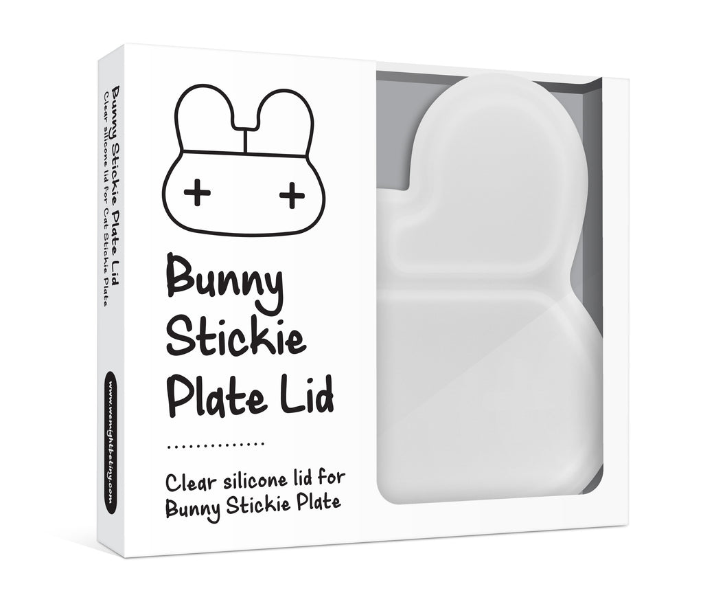 Bunny Stickie Plate Lid
