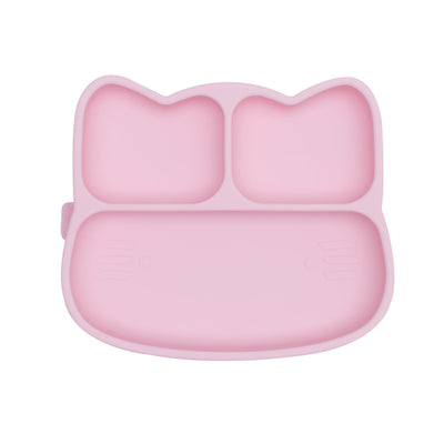 Cat Stickie™ Plate - Powder Pink