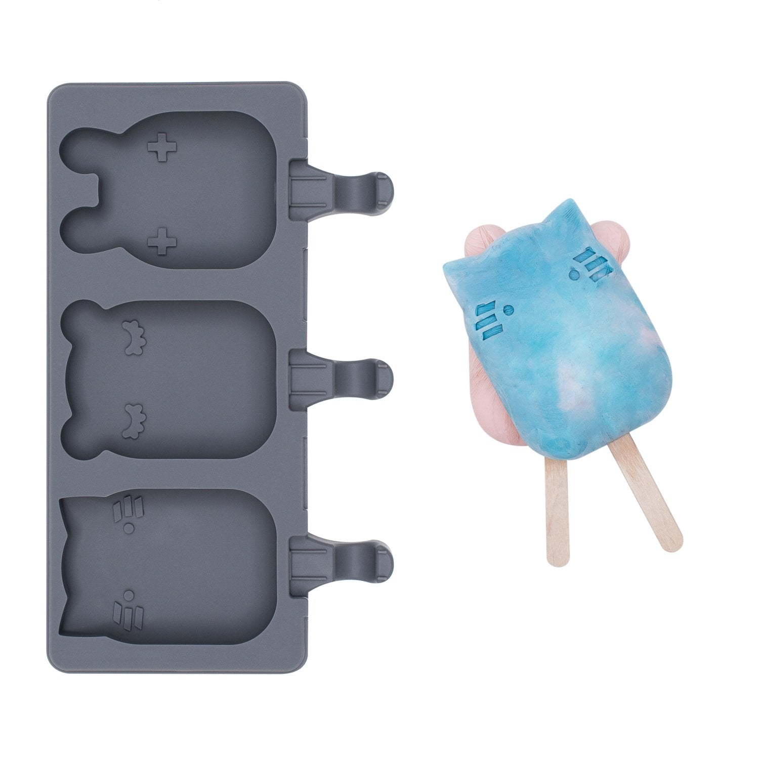 Ice Pop Mold - Charcoal