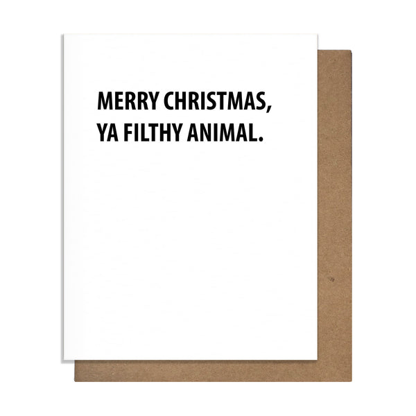 Filthy Animal Card - 20237