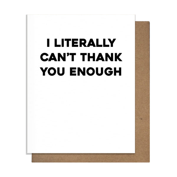 Thank Enough Card - 20234