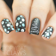 Load image into Gallery viewer, Nail Art Stamping Plate | Jingle All the Way