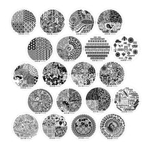 Load image into Gallery viewer, Nail Art Stamping Image Plates 20 Pcs Set | 3rd Generation