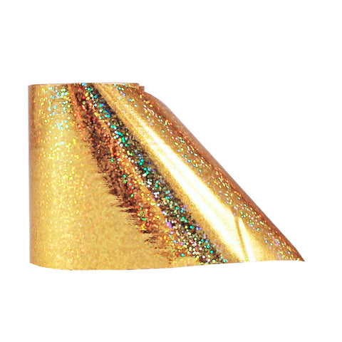 Nail Art Transfer Foil Paper | Sparkly Gold