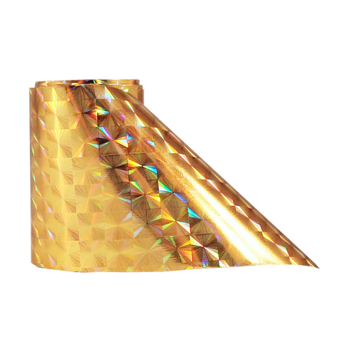Nail Art Transfer Foil Paper |  Metallic Gold