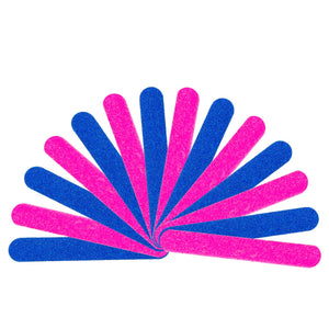 100 Pcs Disposable Mini Nail Files
