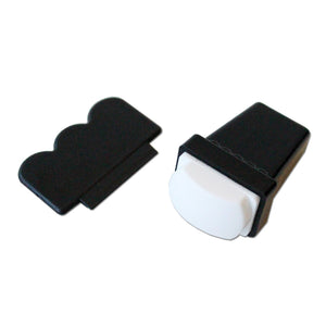 Nail Stamper Set Rectangular White Soft Pad