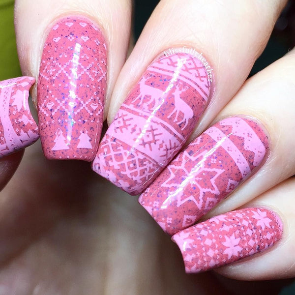 Nail Art Stamping Plates Set | Christmas Collection II