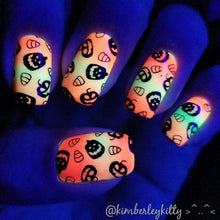 Load image into Gallery viewer, Nail Art Stamping Plate | Horror Night