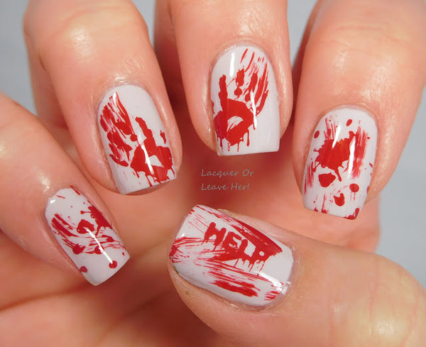 Nail Art Stamping Plates Set | Halloween Collection