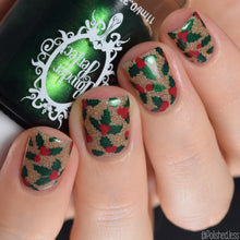 Load image into Gallery viewer, Nail Art Stamping Plates Set | Christmas Collection II