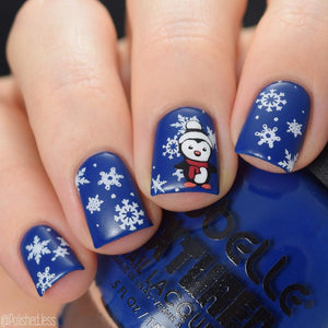 Nail Art Stamping Plate | The North Pole