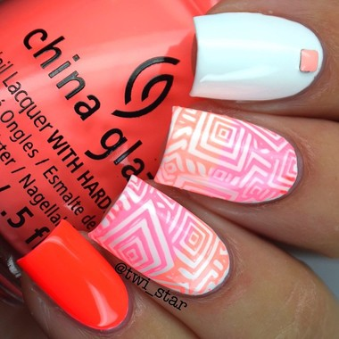 Nail Art Stamping Plate - The Carnival