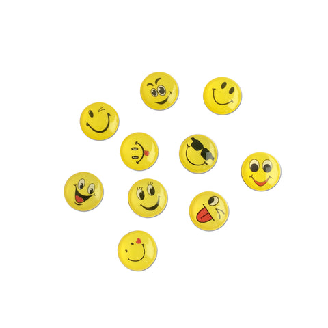10 Pcs Nail Art Charms - EMOJI