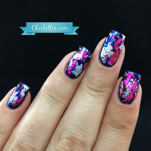 Nail Art Transfer Foil Paper |  Hot Pink