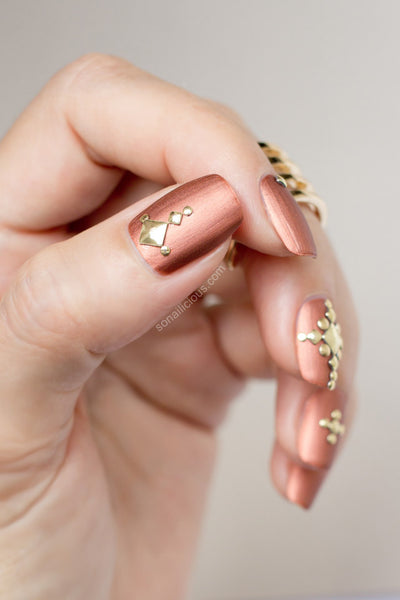 Nail Art Metallic Studs Bundle Sets