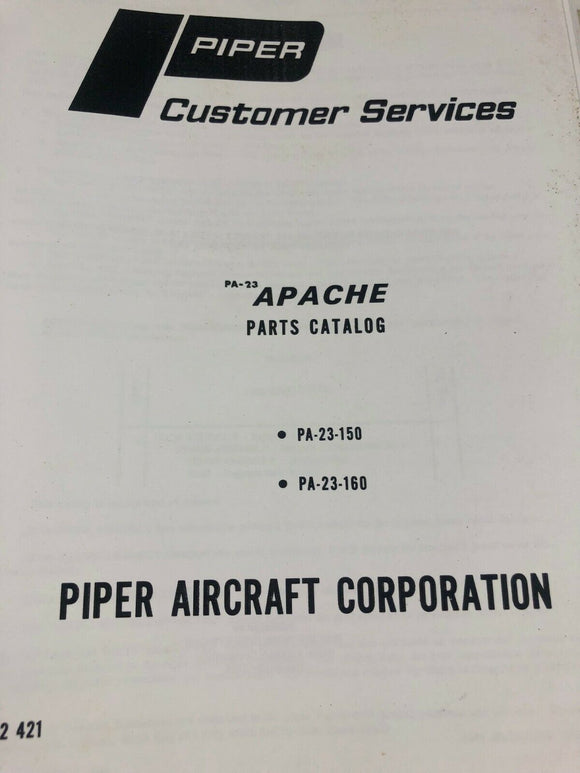 Piper Apache Parts Catalog
