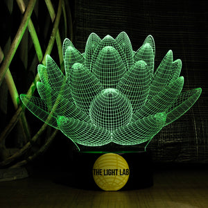 Lotus - The Light Lab - Lampe 3D