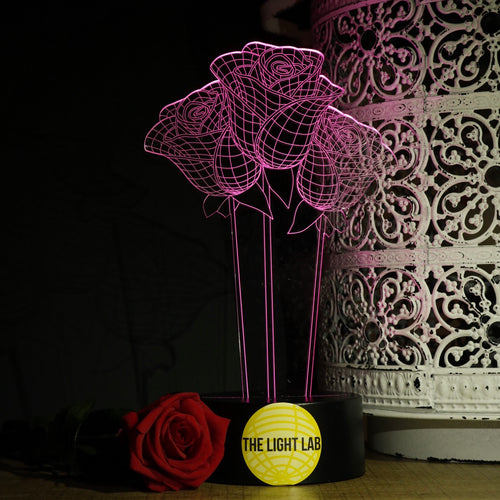 Rosa - The Light Lab - Lampe 3D