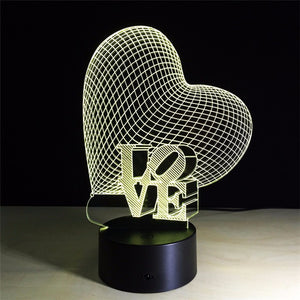 Dilectio - The Light Lab - Lampe 3D