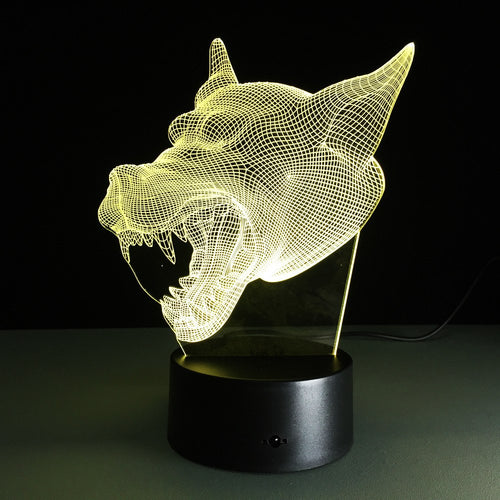 Lupus - The Light Lab - Lampe 3D