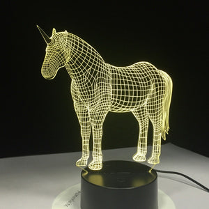 Equus - The Light Lab - Lampe 3D