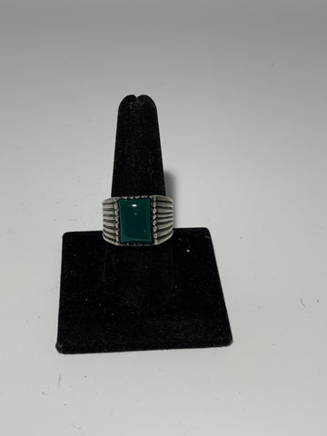 Men Sterling Silver Ring 925