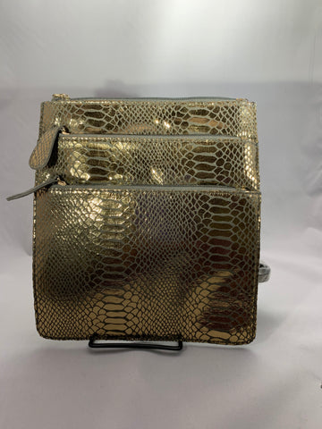 Gold Crossbody Handbag