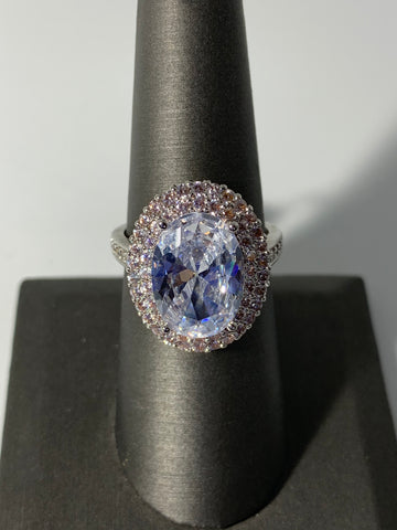 Fashion Ring with Cubic Zirconia