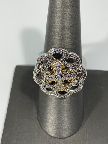 Statement Ring with Cubic Zirconia