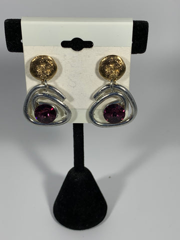J Jansen Statement Earrings