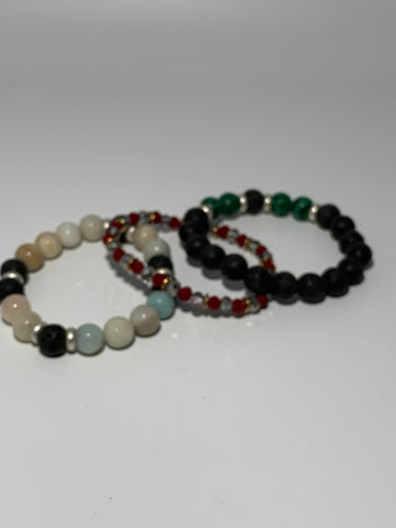 Stretch Bracelet Set of 3