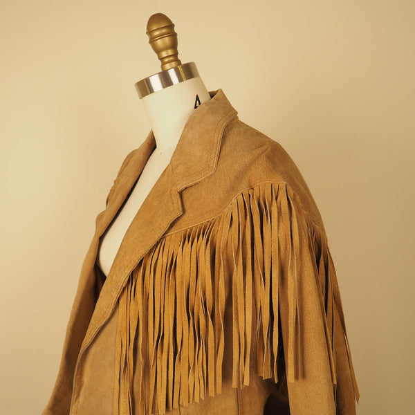 Elaine Fringe Leather
