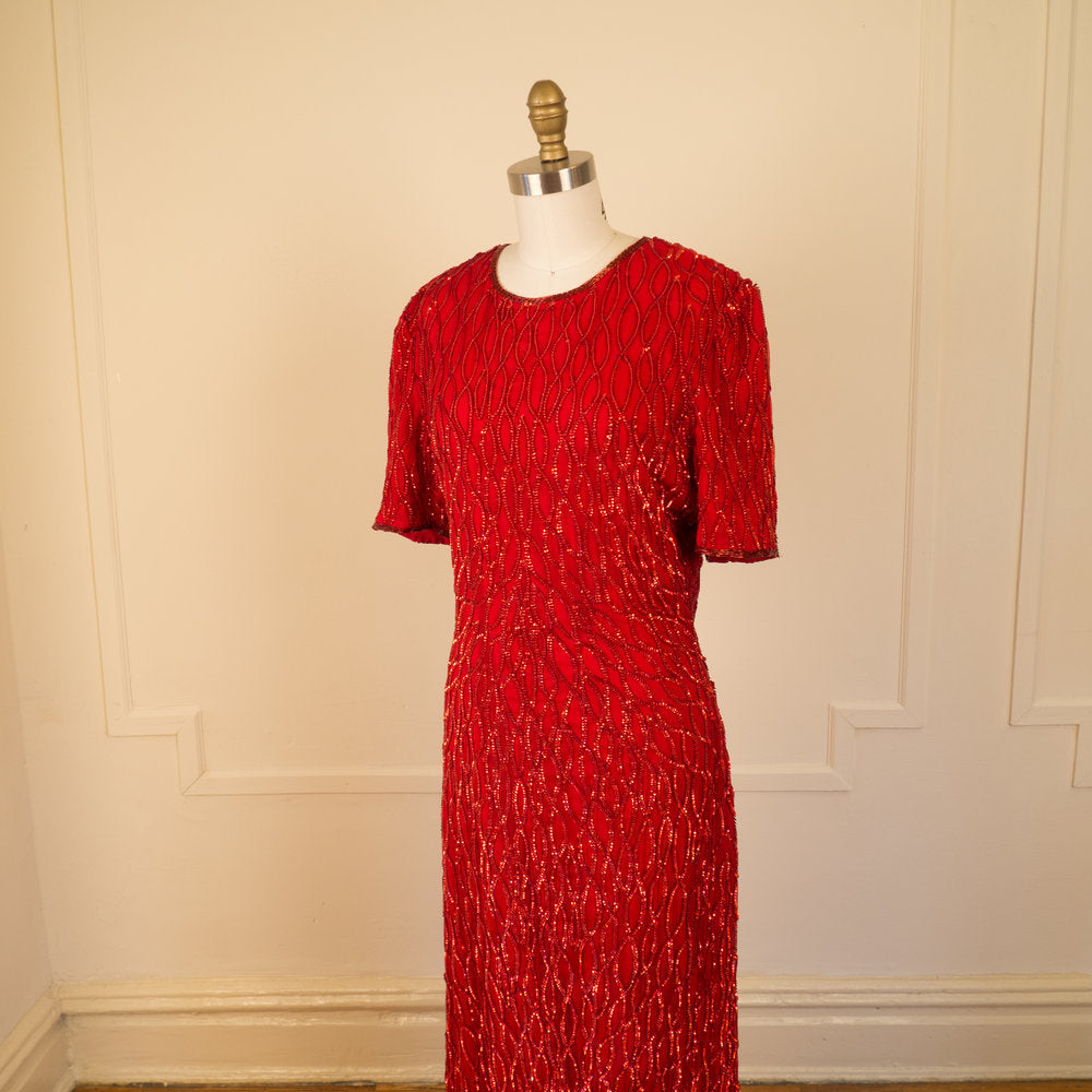 Red Sequin Showstopper