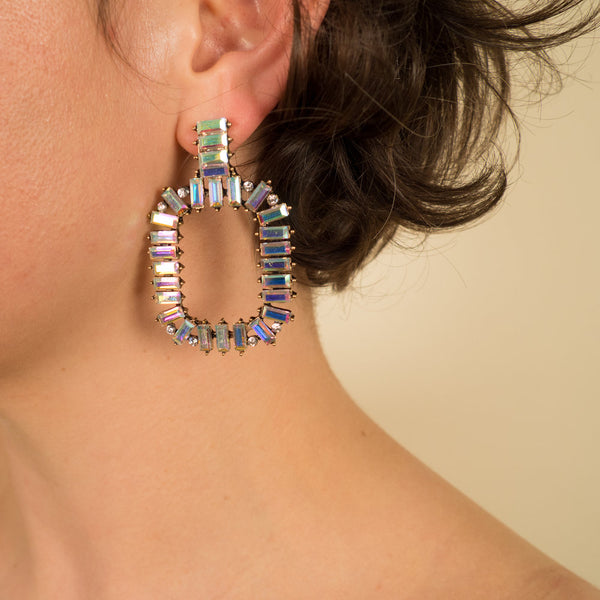 Chandelier Bedazzled Earrings
