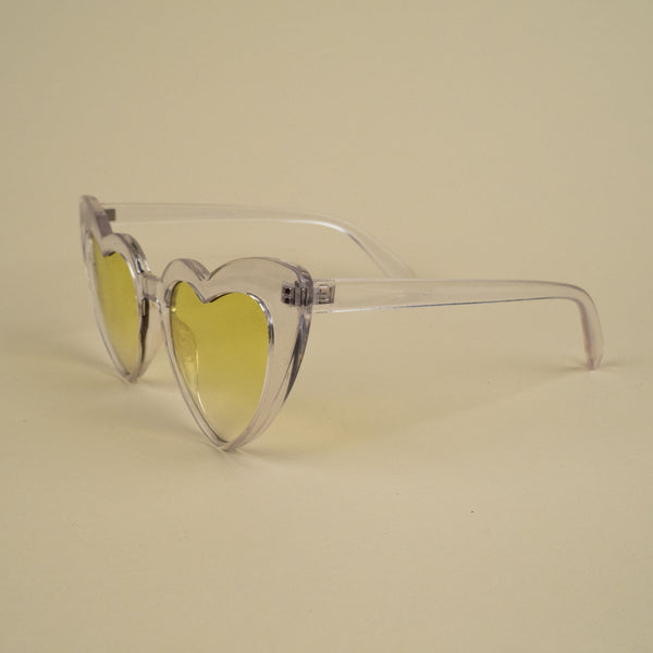 Yellow Hearts Sunnies