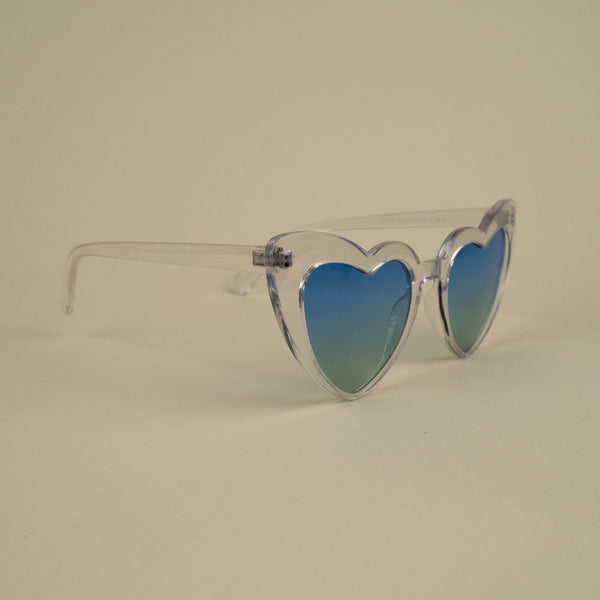 Blue Heart Sunnies