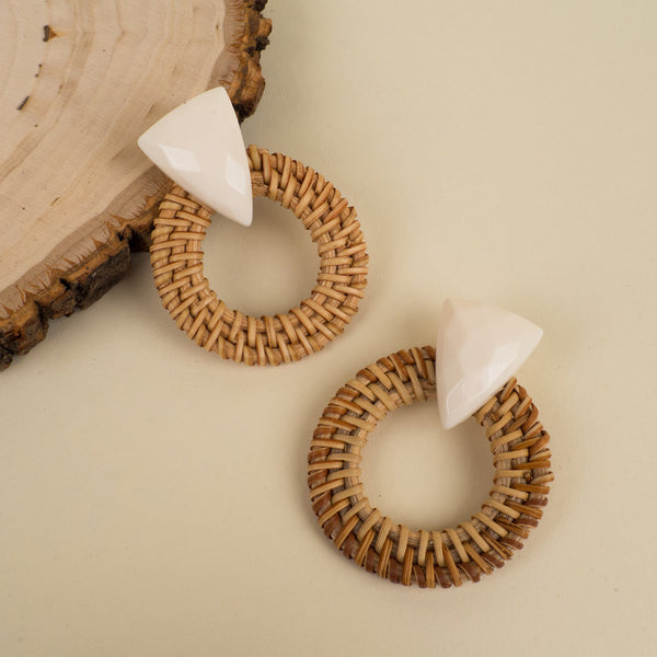 Stone Wicker Hoops