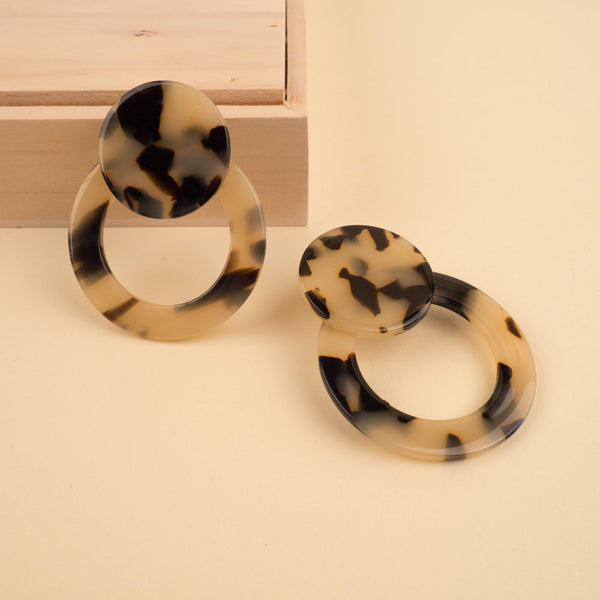 JayJ Resin Hoop Earrings