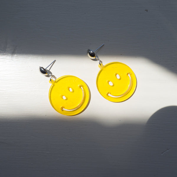 Everything's FINE Smile Earrings