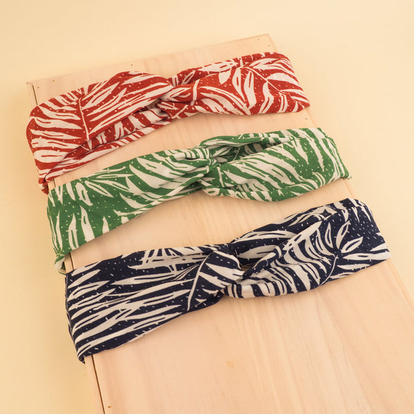 Palm Printed Head Band