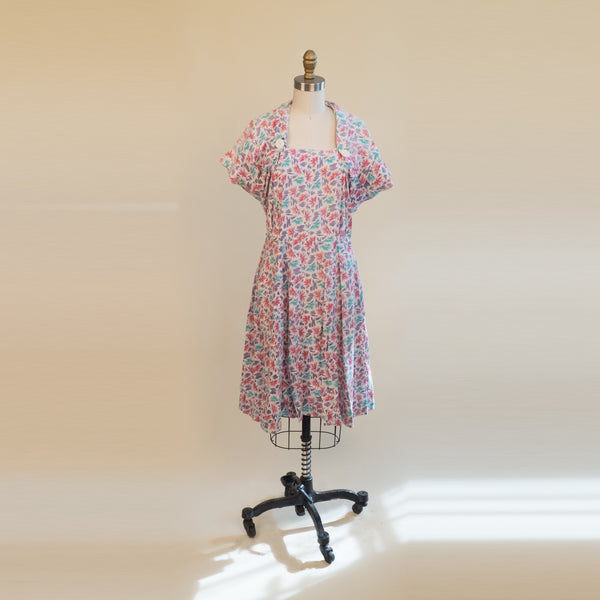 1980s Skater Confetti Dress