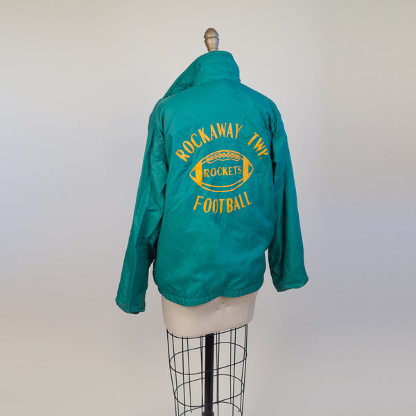 """Dom's"" Windbreaker High School Football Jacket"