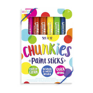 Chunkies Paint Sticks Original Pack - Set of 12