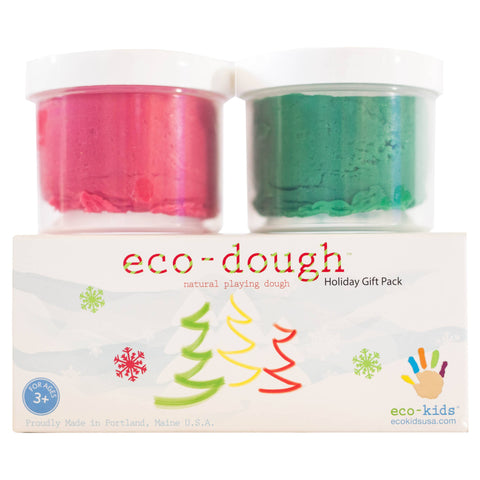 Eco-dough 2 pack - Holiday